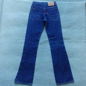 Small very vintage Levi's 517 in new condition